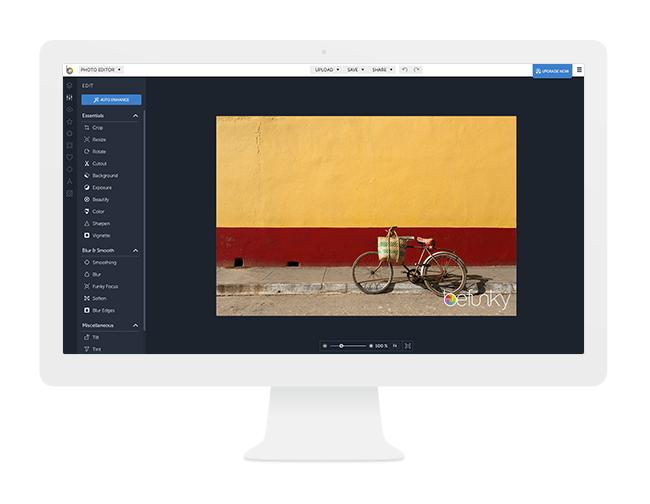 BeFunky сервис для обработки фотографий